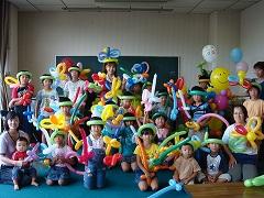 [ 教室 ]村岡公民館学級にてバルーン教室