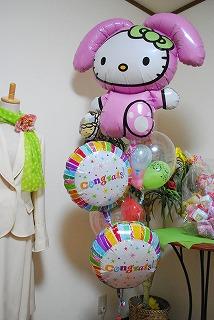 【卒業祝】卒園祝にバルーンギフト