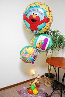 【1歳の誕生日】バルーンギフト