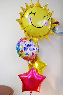 【誕生日祝い】バルーンギフト